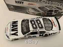 Brad Keselowski #88 Navy Accelerate Your Life AUTOGRAPHED JR Motorsports Diecast