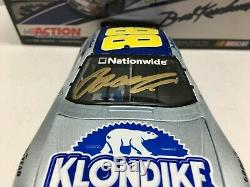 Brad Keselowski Autographed Nascar Diecast 2008 #88 Klondike 1/24 Action Rare