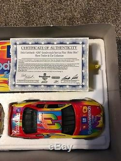 Brookfield Dale Earnhardt #3 Peter Max- Show Trailer Set- Rare- Nib