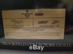 Brookfield Dale Earnhardt #3 Peter Max- Show Trailer Set- Rare- Nib