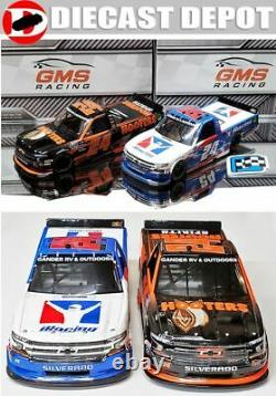 CHASE ELLIOTT 2020 2 TRUCK COMB0 DEAL- HOOTERS & IRACING CHARLOTTE WIN 1/24 acti