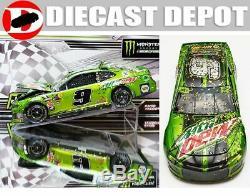 Chase Elliott 2018 Kansas Win Raced Version Mountain Dew 1/24 Action Diecast