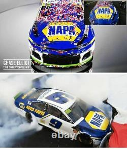 Chase Elliott 2019 Charlotte Roval Win Raced Version Napa 1/24 Action