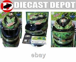 Chase Elliott 2020 Mountain Dew Zero Car & 1/2 Scale Mini Helmet Combo Deal 1/24