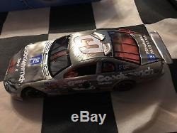 Dale Earnhardt 1997 Monte Carlo Crash Car Action 1/24 Rare Brushed Metal