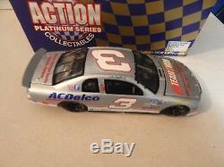 Dale Earnhardt & Dale Jr 1998 Canadian Split Silver 1/24 Action Diecast 624 Made