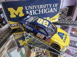 Dale Earnhardt Jr 2016 University Of Michigan Axalta 1/24 Action Nascar Diecast