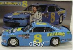 Dale Earnhardt Jr 2019 #8 Hellmanns Darlington Autograph 1/24