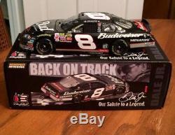 Dale Earnhardt Jr 3 Days Of Tribute Black Bud Autographed 1/24 Nascar Diecast