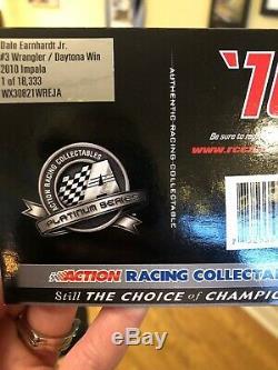 Dale Earnhardt Jr #3 Wrangler / Daytona Win 2010 Impala. Action 124 Diecast