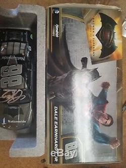 Dale Earnhardt Jr Autographed 2016 Batman 1/24 Action Nascar Diecast