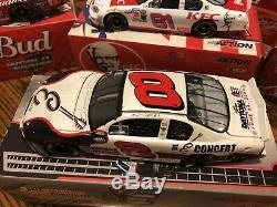 Dale Earnhardt Jr. Lot of 10 Action Nascar 124 KFC Budweiser Goodwrench +++