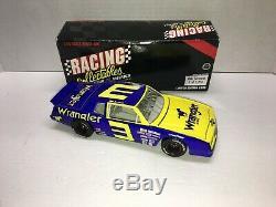 Dale Earnhardt Nascar Diecast 1984 #3 Wrangler Blue Goose 1/24 Action Rcca Rare