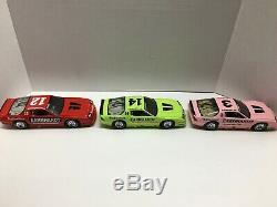 Dale Earnhardt Nascar Diecast 1987 1988 1989 Caramo Iroc (3) Car Set 1/24 Action
