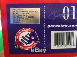 Dale Earnhardt Sr. 2000 Talladega No Bull Win 1/24 Nascar Action Diecast