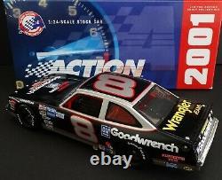 Dale Earnhardt, Sr. #8 GMGWSP 1/24 Action 1987 WRANGLER Chevy Nova