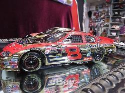 Dale Earnhardt Sr & Jr Combo Daytona 500 Winners Gold Cars 1998 & 2004