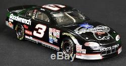 Dale Sr. & Dale Jr. Signed #3 Goodwrench 1999 Monte Carlo 25th Winston Anniv SGC