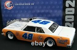Darrell Waltrip #48 Crowell & Reed 1/24 Action 1964 Chevy Chevelle 1 of 3840