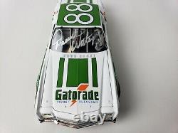 Darrell Waltrip 88 Gatorade 1/24 Action Dieguard NASCAR Car Diecast Signed