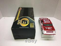 Darrell Waltrip Nascar Diecast 1985 #11 Budweiser 1/24 Scale Rcca Elite Rare