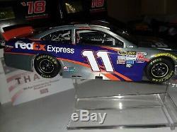 Denny Hamlin 2017 #11 FedEx EXPRESS = PROTOTYPE Raw Finish Diecast RAW = RARE