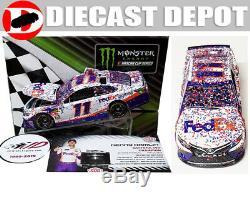 Denny Hamlin 2019 Daytona 500 Win Raced Version Fedex Express 1/24 Action