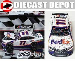 Denny Hamlin 2020 Daytona 500 Win Raced Version Fedex 1/24 Action