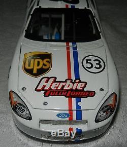 ELITE 2005 Dale Jarrett HERBIE FULLY LOADED / UPS 1/24 #253 of 600 Action RARE
