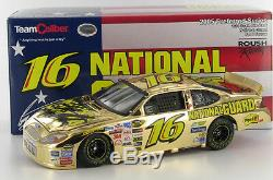 Greg Biffle #16 Gold NG 1-24th Scale Diecast Car. Autographed by Greg