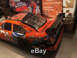 Jeff Burton 2008 At&t Bristol Win Raced Version 1/24 Action Diecast Car 1/730