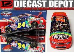 Jeff Gordon 1998 Darlington Win Raced Version Dupont Refinishes 1/24 Action