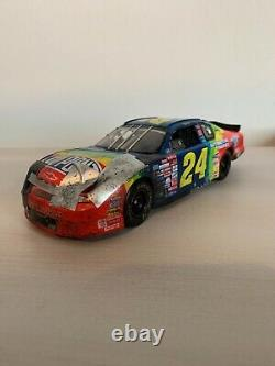 Jeff Gordon 2000 Texas Wrecked Raced Version 124 Elite Custom