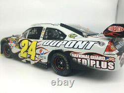 Jeff Gordon 2009 RCCA ELITE #24 National Guard Texas Race Win 2009 Impala SS
