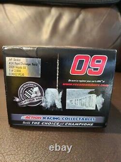 Jeff Gordon #24 Pepsi Challenger Retro 2009 1/24 Chevy Impala Action NASCAR