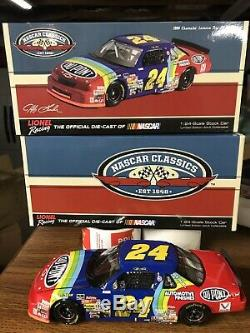 Jeff Gordon Autographed 1994 Lumina Dupont 1st Indy Win 1/24 Action Diecast N Cl