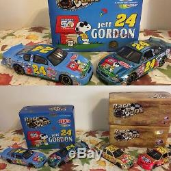Jeff Gordon Collection 39 Diecasts 124 Scale Cars FREE SHIP MAKE OFFER