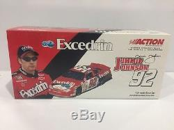 Jimmie Johnson 2001 Excedrin #92 First Cup Car