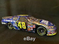 Jimmie Johnson 2006 Lowe's Daytona Race Win Autographed 1/24 Diecast