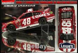 Jimmie Johnson 2014 Lowes Red Special 1/24 Scale Action Nascar Diecast