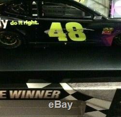 Jimmie Johnson 2019 Daytona Clash Win Raced Version Ally 1/24 Action