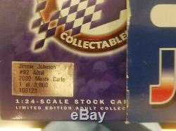 Jimmie Johnson #92 Alltel 2000 Chevy Monte Carlo X-RARE (1/3,000) Action 1/24