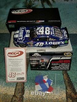 Jimmie johnson 1/24 diecast elite Daytona 500 Win