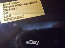 Johnson 124 Elite Autographed 2018 Lowes Patriotic Door DIN #48 Lionel COA Ally