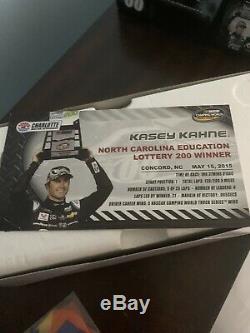 Kasey Kahne 2015 Charlotte NASCAR Truck Race Win Diecast 124