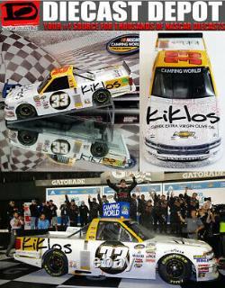 Kaz Grala 2017 Kiklos Greek Olive Oil Daytona Win Silverado 1/24 Action