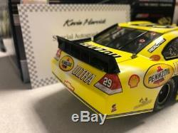 Kevin Harvick 2010 Pennzoil Ultra 1/24 Action Diecast Car 1/710 Autographed Coa