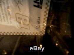 Kyle Busch # 18 Interstate Batteries 1/24 Action Platinum Elite Diecast Only 24