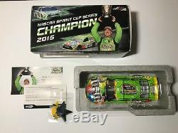 Kyle Busch 1/24 2015 M&M'S Champion Crispy Green 124 Nascar Lionel Action