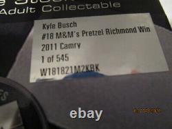 Kyle Busch 2011 M&M's Pretzel Richmond Raced Version Win 124 FREE SHIPPING